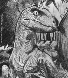 It's a Raptor sketch? You bet Jurassic it is! by VerminGTi