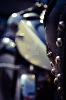 Motorcycle seat macro by chelsipeters