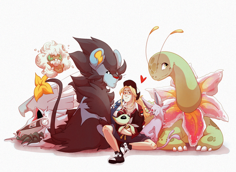 PokeTeam by xFatedDestinyx