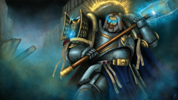 Uther the Grey Knight by Filip-Hammer