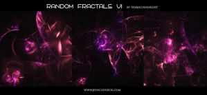 Random fractals VI by Starscoldnight by StarsColdNight