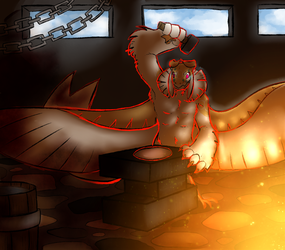 Fire Magic Class by smokeing-fish