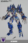 SCOURGE TRANSFORMERS BATTLE MACHINE by GUILLERMOTFMASTER