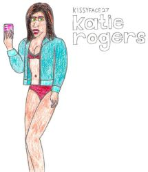 Katie Rogers- Break Time Sketches by jamesgannon