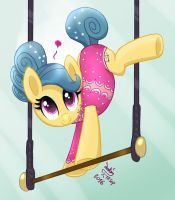 MLP FIM - The Acrobatic Pony Trapeze Star by Joakaha