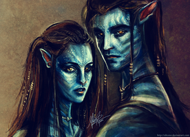 Bell'tiri and Ed Cully by alicexz