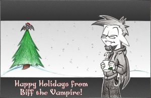 BtV - Happy Holidays 2010 by SillyVamp