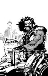 Lobo and Dawg by ANDYTAYLOR-GARBAGE