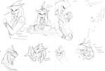 Prince Sidon Sketches by MariusOfTheSea