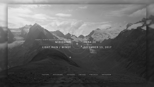 [Rainmeter] Simply / 1.0 by DD-921