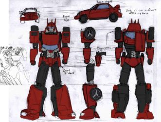 tfoc: Dart redesign by beamer
