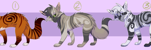 Cats Adoptables - Batch #2 [CLOSED] by melo3001