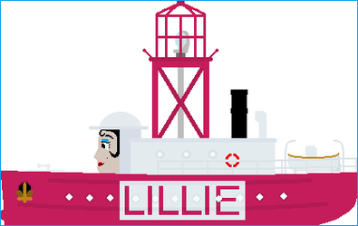 Lillie the Lightship by Galaxy-Afro