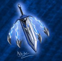 Spirit flying  great sword  Gladius by Meta-Kaz