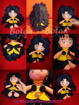 chibi Luna human plush version by Momoiro-Botan