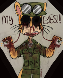 Goretober D16: No Eyes by Doodle-s