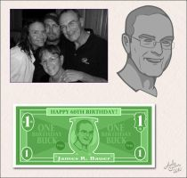 Dad's 60th Birthday by Art-by-Andy