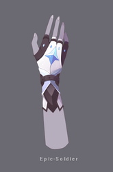 Glove redesign by Epic-Soldier