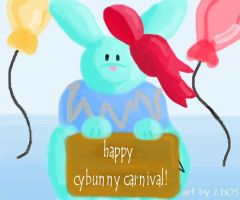 cybunny carnival by flightlessbird