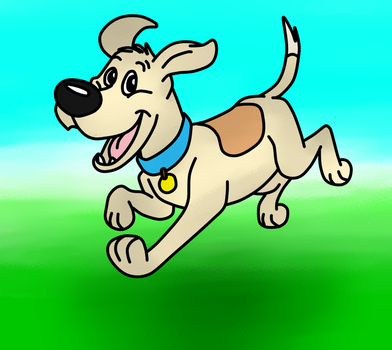 Jumping Dog by jcpag2010