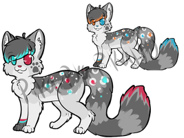 Design Auction (Two Designs For One) by starsleeps