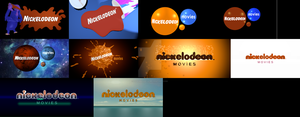 Nickelodeon Movies logo remakes by logomanseva