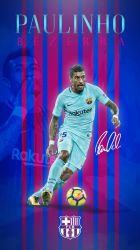 Paulinho Phone Wallpaper 2017/2018 by GraphicSamHD