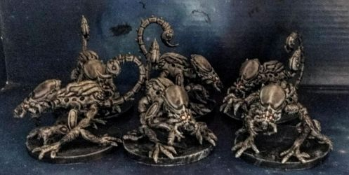 Aliens Project:  Fourth Instar Warriors by Spielorjh