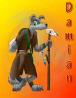 Damian, the wolven Shaman by WhiteRoo