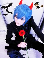 Kaito: after Hallo party :3 by palecardinal