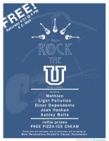 Elmhurst Rock the U Flyer by twolapdesigns