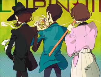 A back of lupin by blue-cube