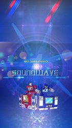 Wallpaper Smartphone - Soundwave - By: NM28XD by Ninjaman28xD
