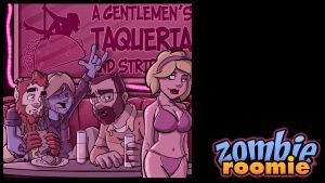 ZR at the strip club by ZombieRoomie