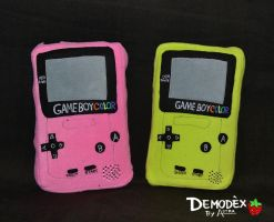 Gameboy Color Plush by DemodexPlush