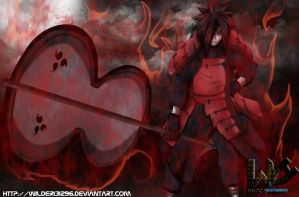Uchiha Madara Manga 601 by Wilder131296