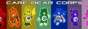 Care Bear Corps by AdamTupper