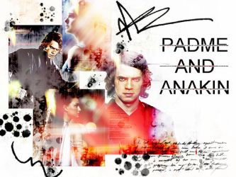 Padme and Anakin by websparkle