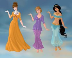 Non/Disney Goddesses - J1 by M-Mannering