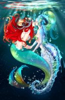 UNDER THE SEA. by Takumy