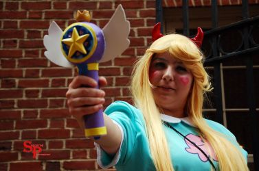 Star Butterfly (2) by Shecktor-Photography