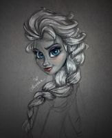 The Snow Queen by SteamboatLyssie