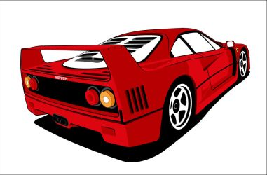 ::Ferrari F40:: by under18carbon