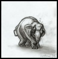 Elephant - by Cre8tivemarks