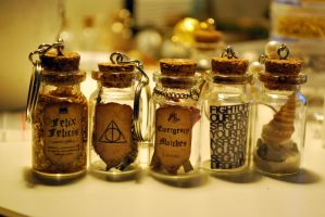 Potion Keychain by 11faced