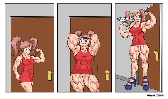 Muscle Growth Commission part 2 by NeroScottKennedy
