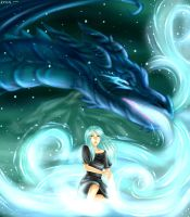 Ice Dragon's Daughter by SelenaLynne