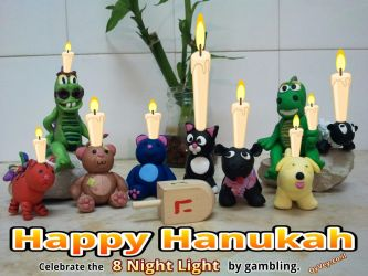 Happy Hannukah Gambling from Oy Vey by amazingn3ss