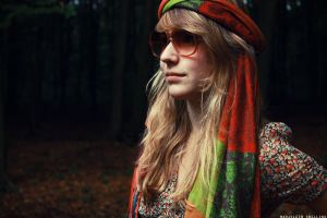 colourful hippie. by Glambition