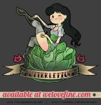 Butterlettuce pinup by eri-phyle